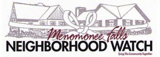 Menomonee Falls Neighborhood Watch – MFNW