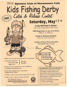 2016 Fish Derby Flyer