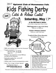 Fall Optimists Fishing Derby