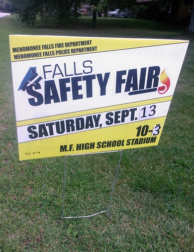 Menomonee Falls Safety Fair 2014
