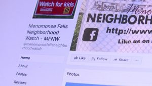 Menomonee Falls Neighborhood Watch Facebook Fan Page